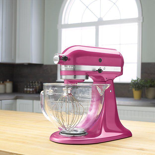 KitchenAid Artisan stand mixer in hot pink Kitchen aide, Mixers - kitchenaid küchenmaschine rot