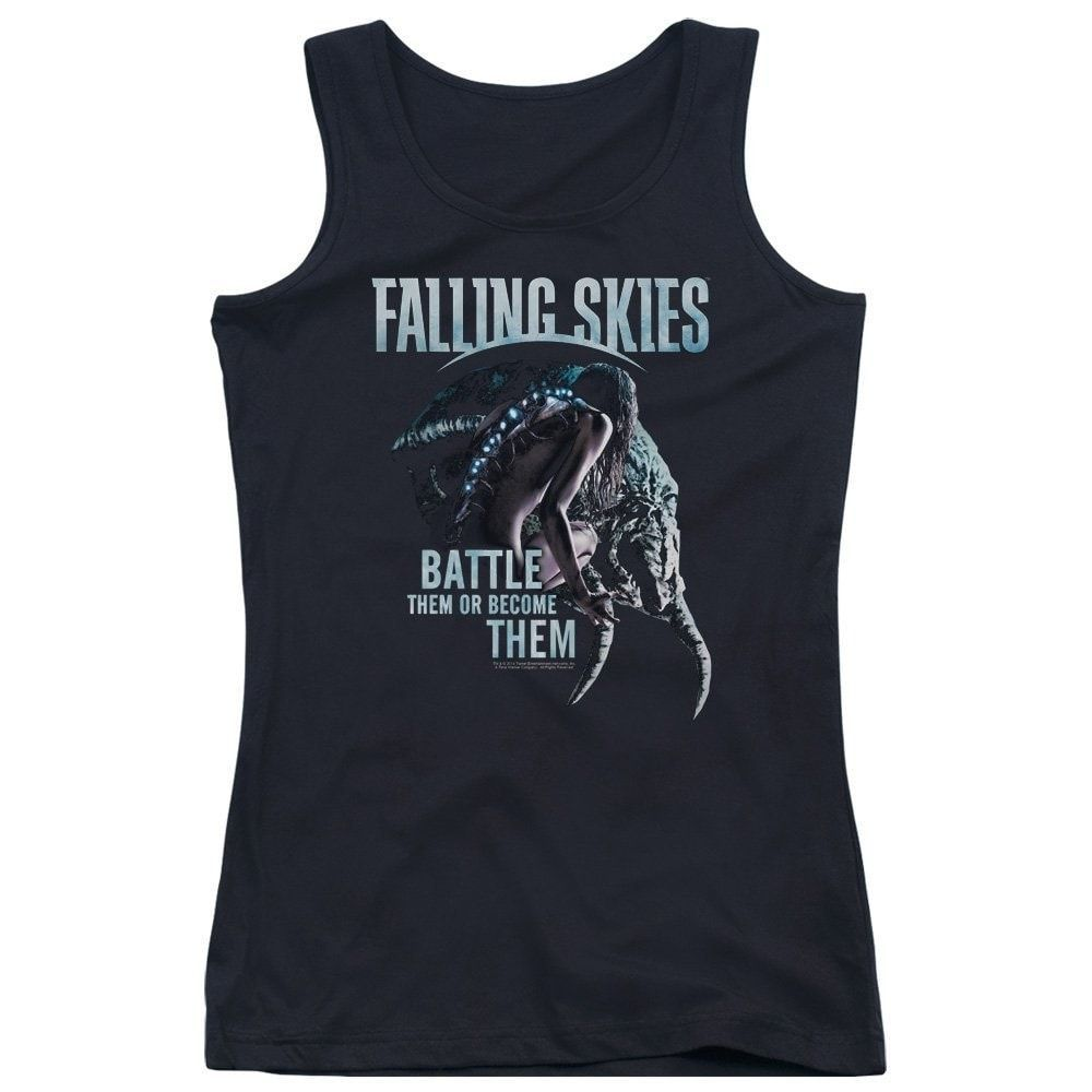 Falling Skies - Battle Or Become Junior Tank Top