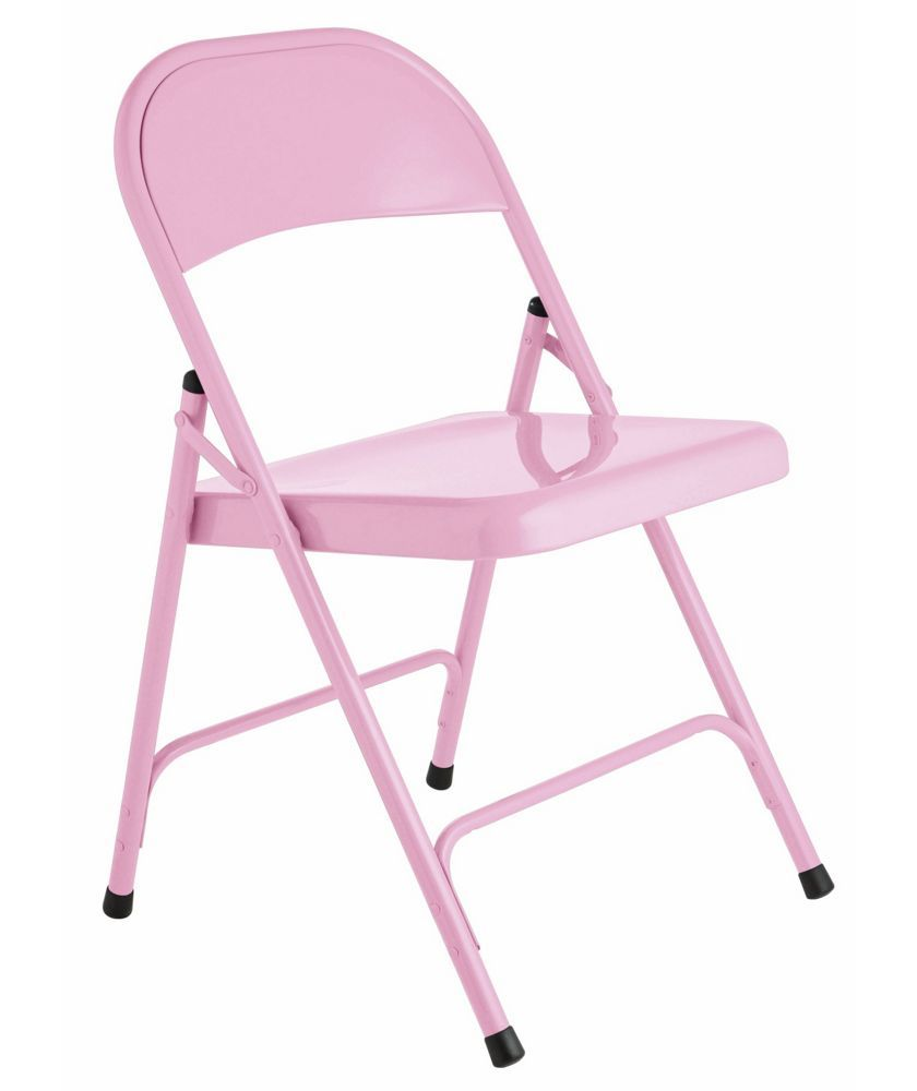 Argos Folding Kitchen Table And Chairs: Buy Habitat Macadam Pink Metal Folding Chair At Argos.co