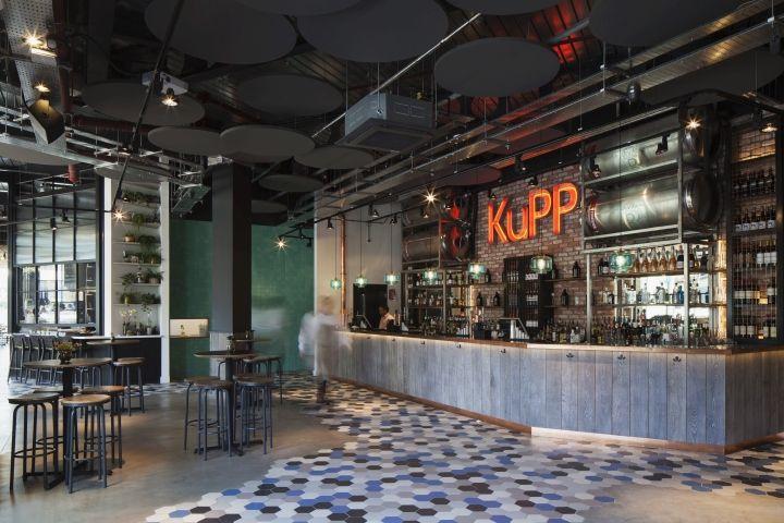 Kupp Caf By DesignLSM London UK Retail Design Blog