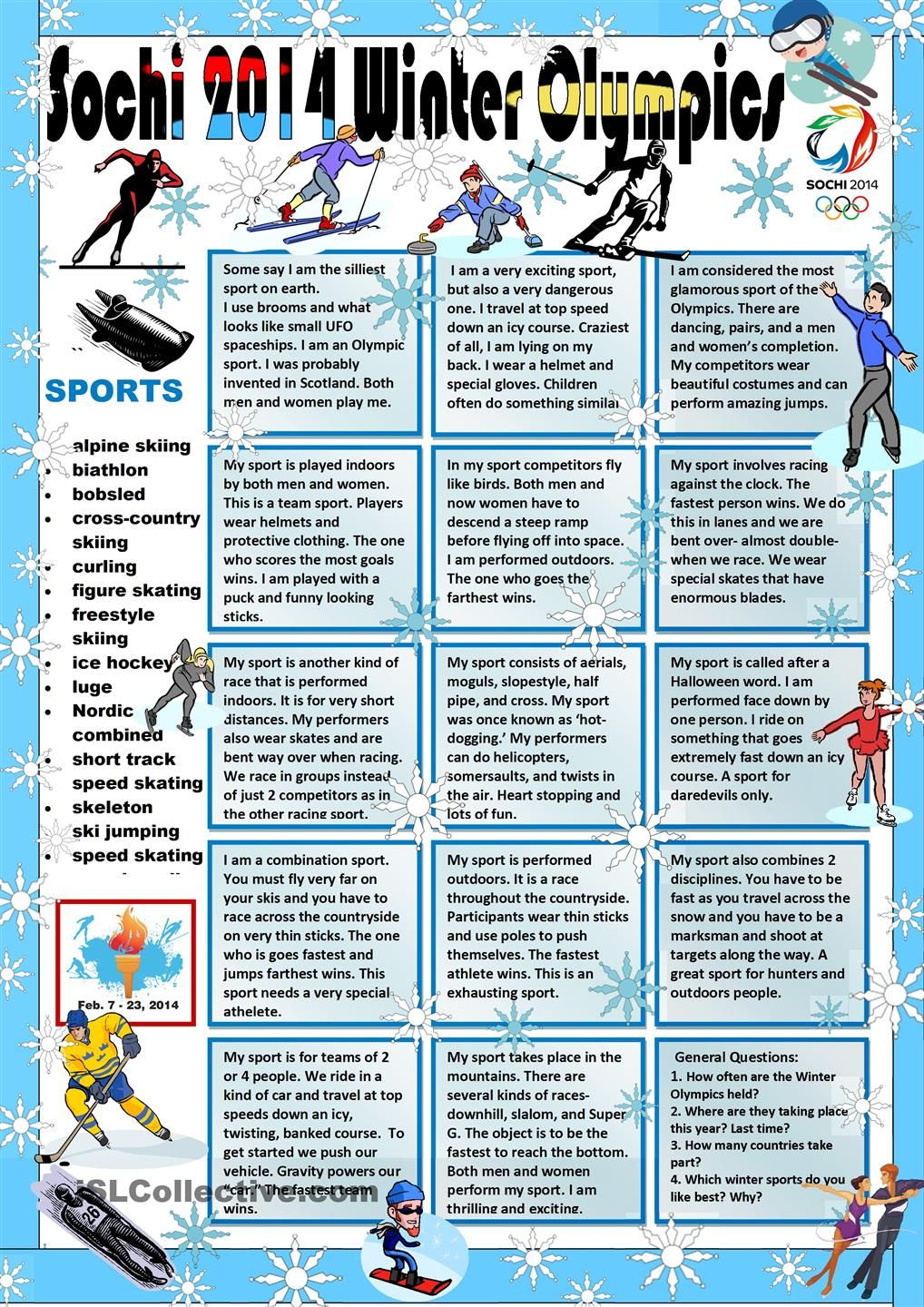 The Olympic Games | LearnEnglish Teens - British Council