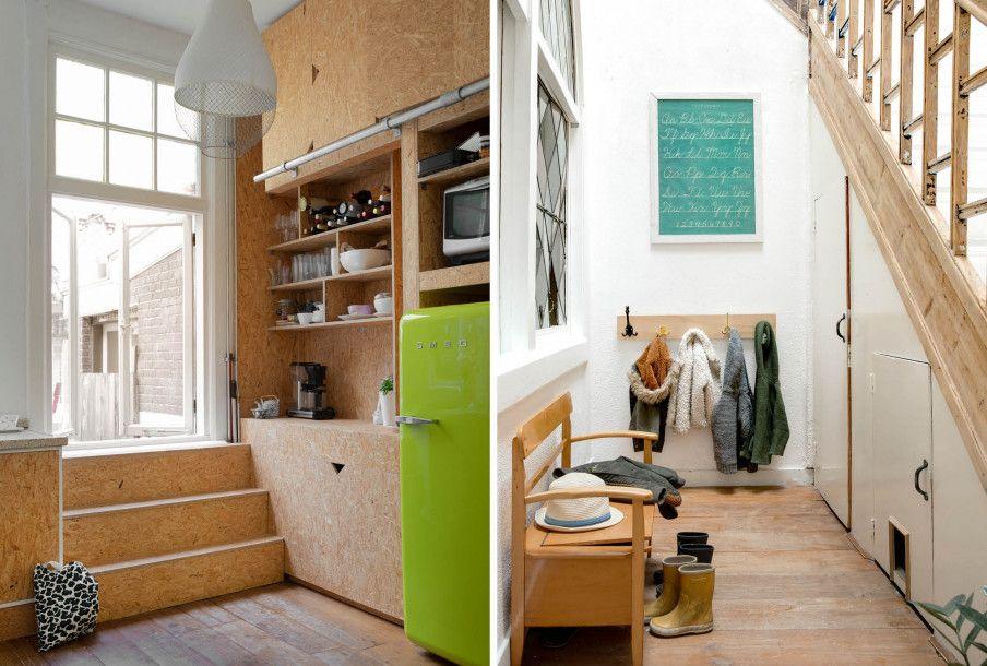 Vtwonen Keuken Houten : Vtwonen binnenkijken keuken obs platen hal klepbank houten trap