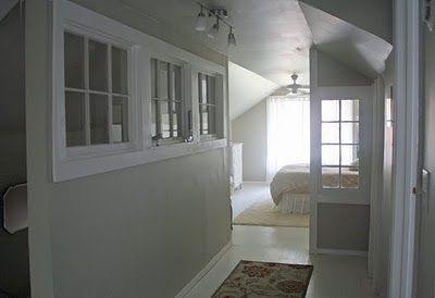 Windows On Interior Wall Great Idea I