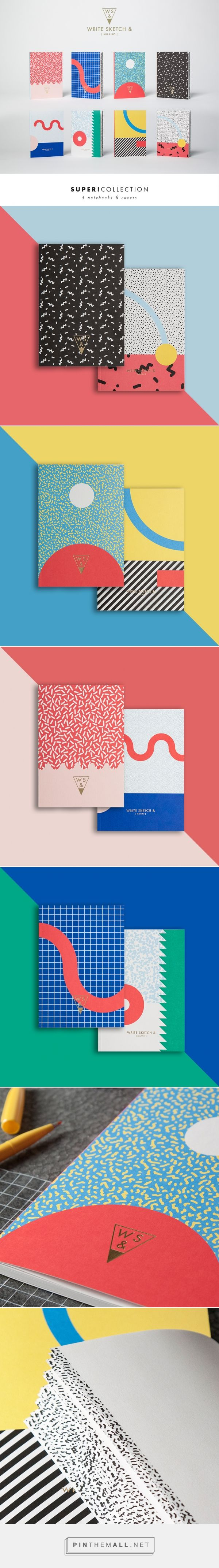 Write Sketch & | Super Collection | Notebooks on Behance - created via http://pinthemall.net