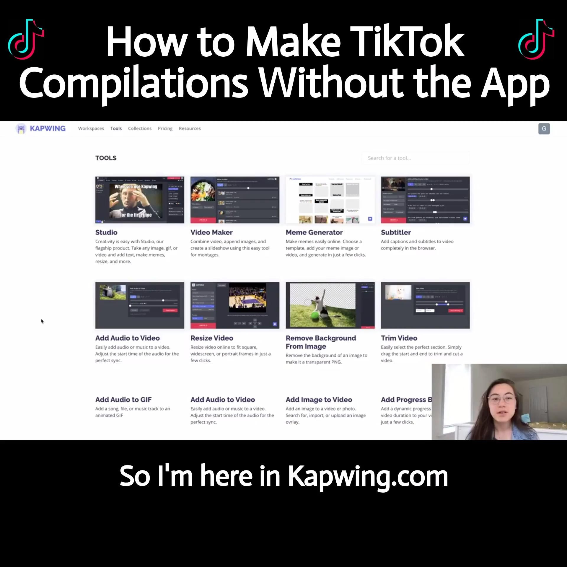 How To Make A Tiktok Compilation Without The App Video Compilation Videos Social Media Youtube