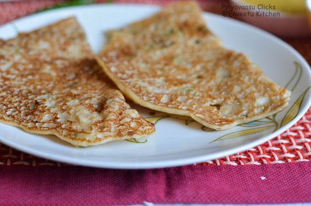 Instant Oats Dosa - Breakfast Recipe   Enveetu Kitchen ...