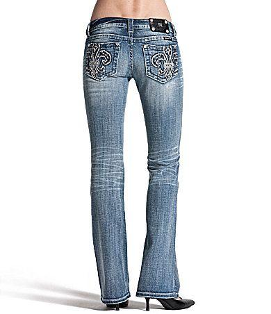 Fleur-de-lys jeans!