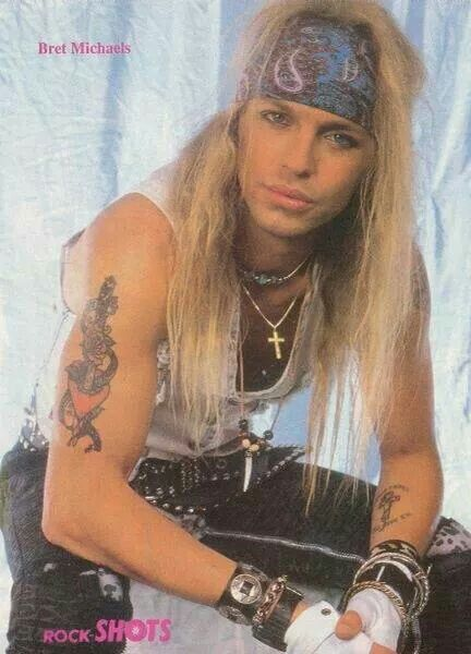 Love This One Bret Michaels 80s Hair Bands Bret Michaels Poison