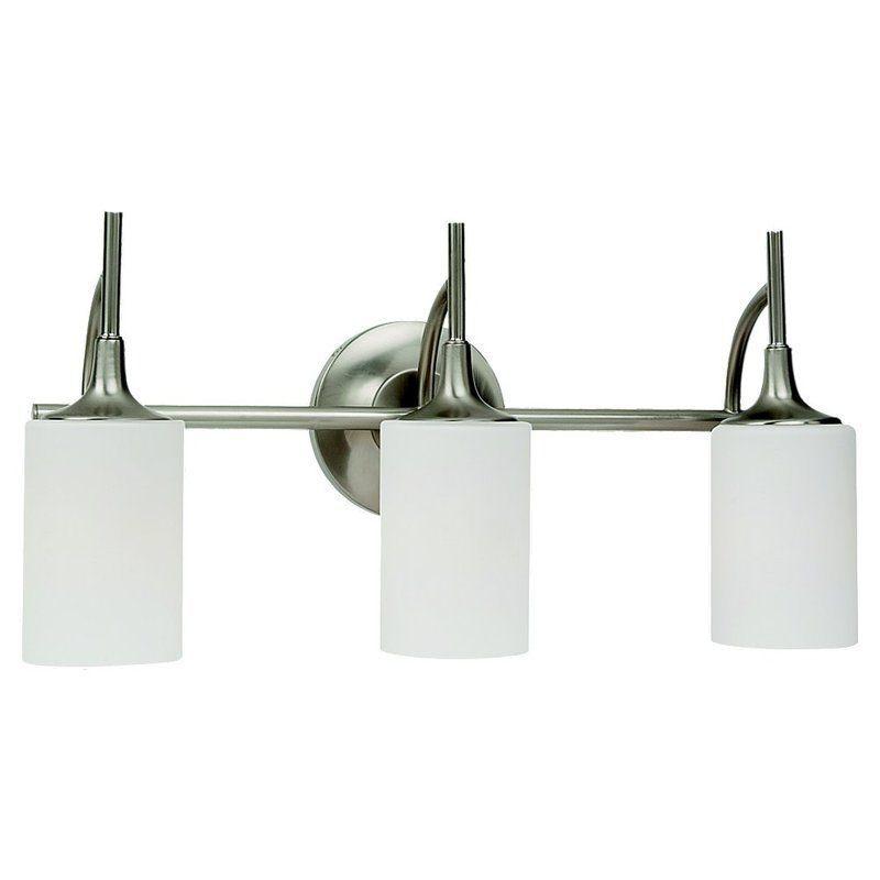 Photo of Sea Gull Lighting 44954-05 Chrome Stirling 3 Light Bathroom Vanity Light – FaucetDirect.com
