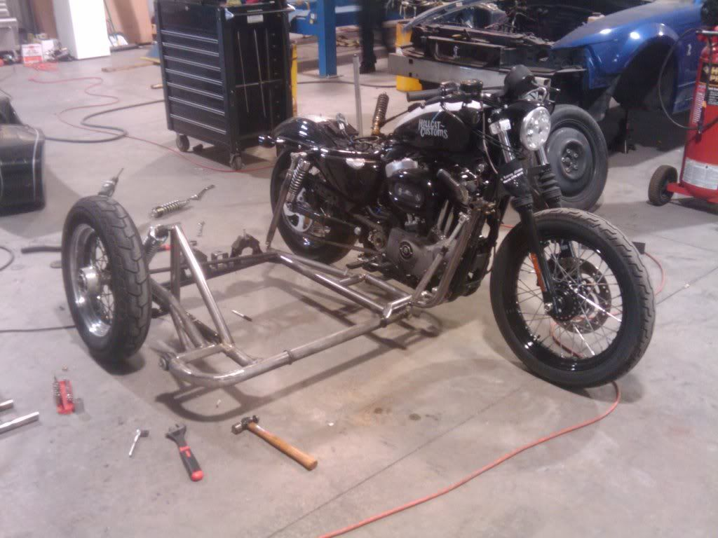 Sidecar On Sportster