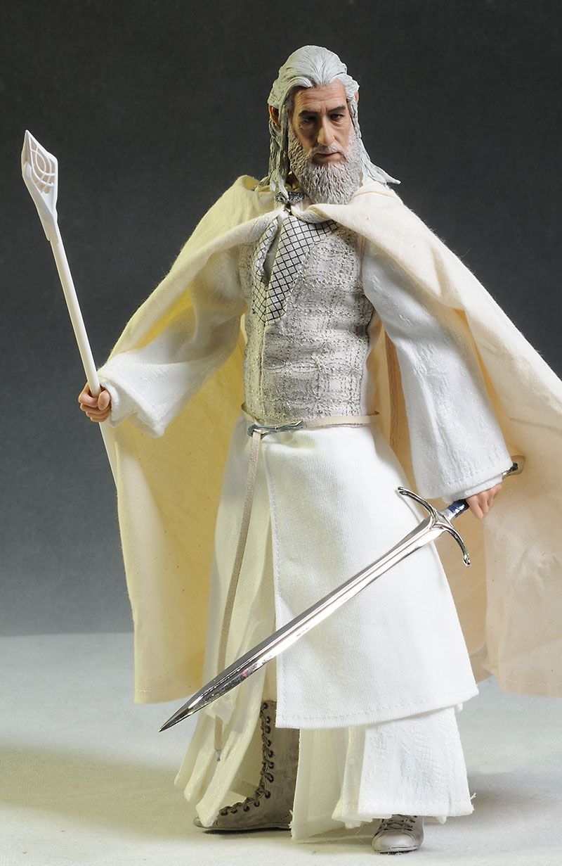 Gandalf el Blanco - Señor de la figura de acción de los anillos de Asmus