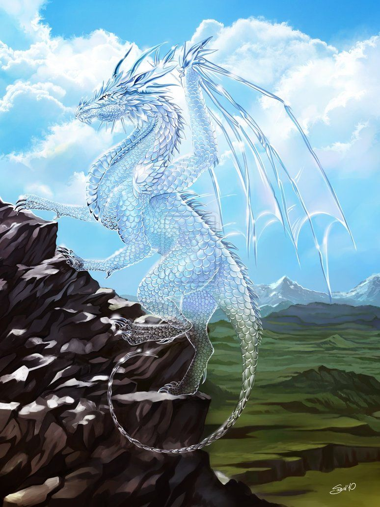 Diamond dragon by *Saa...