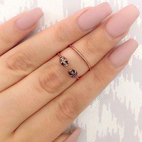 Dynamic Views Beautiful Nail Art Designs Ideas Wallpapers: Blush Acrylic Nail Art Idea #nails #acrylicnails #manicure