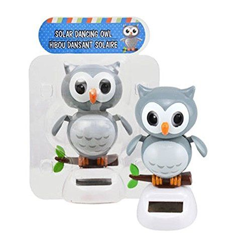 Solar Powered Dancing Blinking Owl Dancing Toys Solar Power Solar