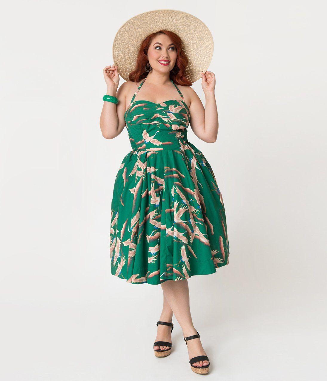 ec1e7feaaf Vintage Hawaiian Dress Plus Size