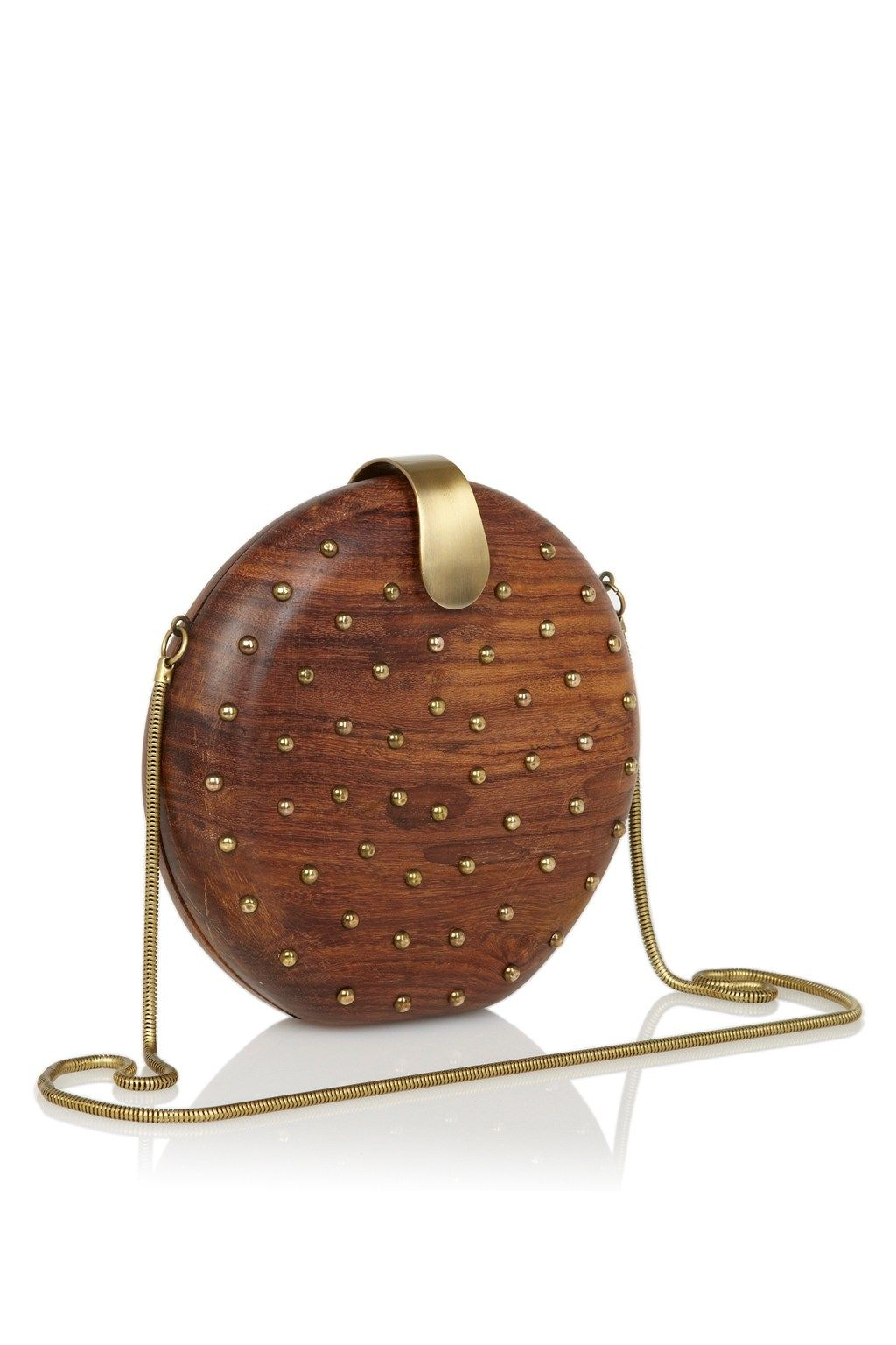 Spot Studded Clutch - Handbags - French Connection Usa