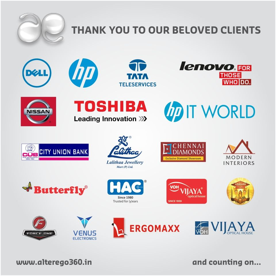 We Are Delighted To Thank All Our Clients Who Have Been Supporting