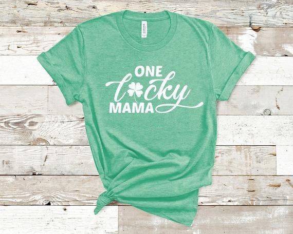 80ca5caa One Lucky Mama, Extra Lucky This Year, St. Pattys Day Shirt, St Patricks  Day Shirt, Baby Reveal, Mom