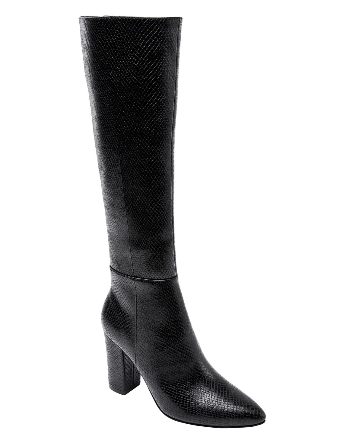 Jane And The Shoe Women S Fay Block Heel Tall Dress Boots Reviews Boots Shoes Macy S In 2021 Pointy Boots Dress With Boots Comfortable Block Heels [ 1467 x 1200 Pixel ]