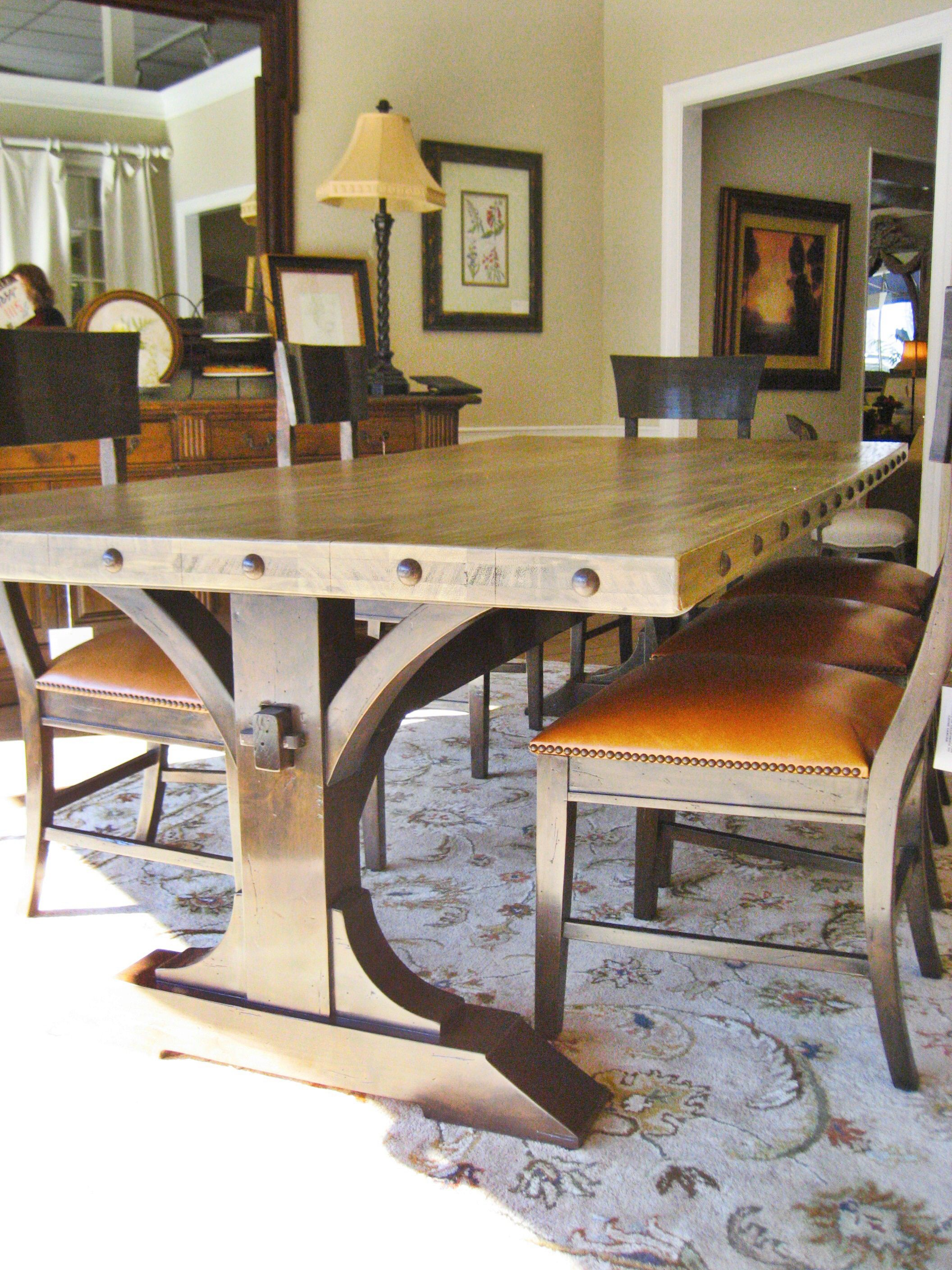 Beautiful Mahogany Dining Set Dining Table Rustic Farmhouse