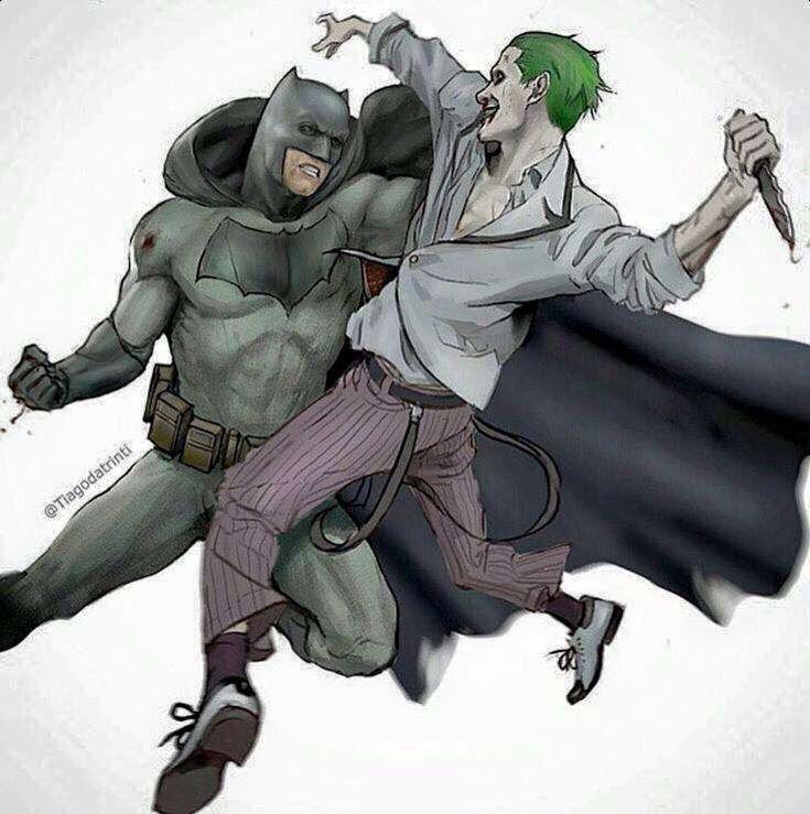 Joker Vs Batman From the Dark Knight Returns | Batmania ...