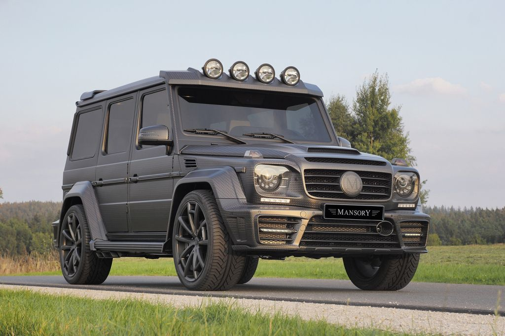 Mansory Mercedes Benz G63 Gronos Black Edition With Images