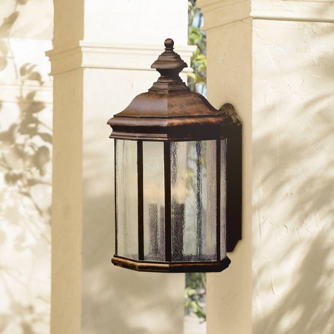 """Kirkwood Tannery Bronze 21"""" High Outdoor Wall Light - # ..."""