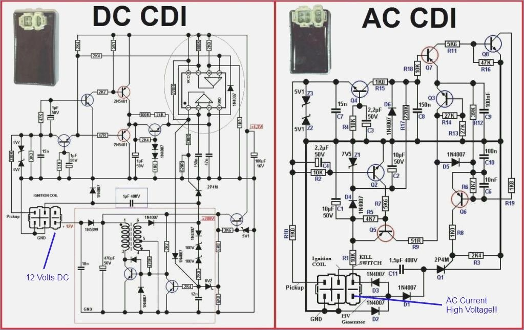 chinese scooter dc cdi wiring diagram