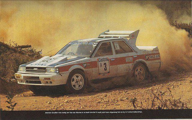 The Nissan Skyline 4x4 South African Group B | 0 RALLY WRC ...
