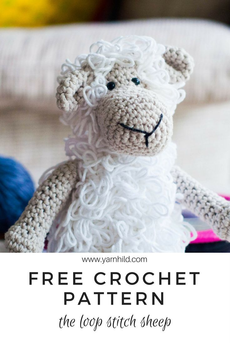 Free crochet patter for this cute sheep. Also in Norwegian. | Your ...