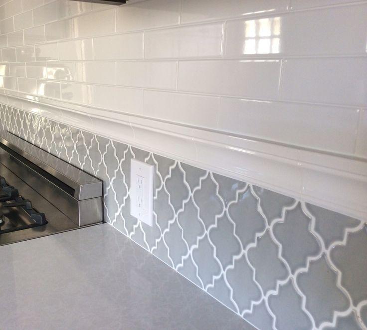 Subway Tile Backsplash Kitchen Ideas With Granite Open Shelving Around Window Pattern Almond Matte 3 Kitchen Tiles Backsplash Home Kitchens Kitchen Design