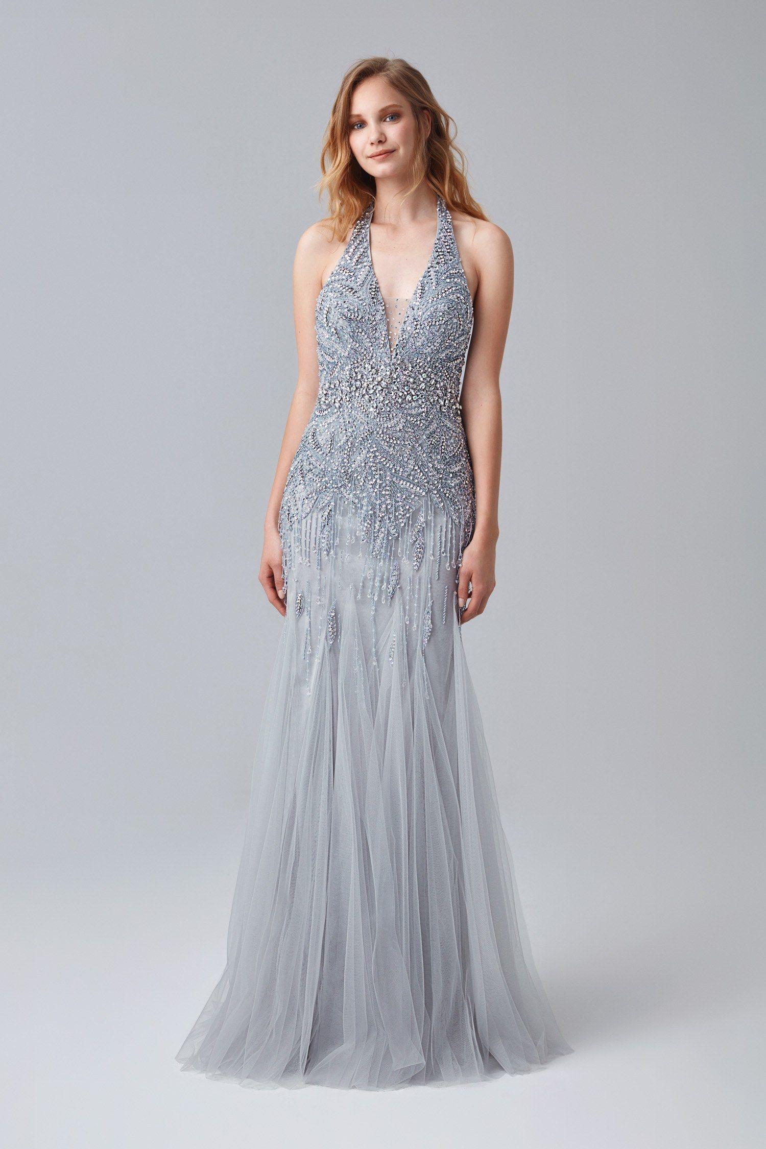 0a387e79462e1 Şıkır Şıkır Taşlı Abiyeler, Parıl Parıl Payetli Abiye Elbiseler şimdi Oleg  Cassini koleksiyonunda! #OlegCassini #eveningdress #dress #sequin