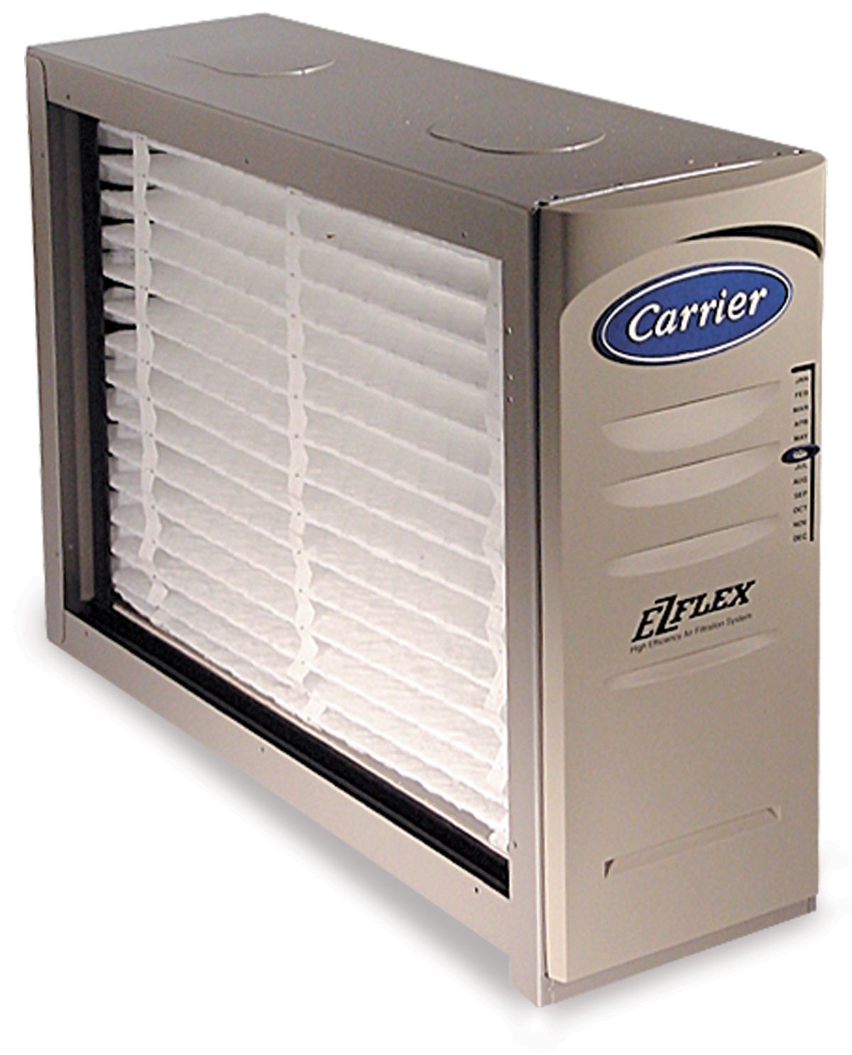 Carrier's EZFlex filter and housing or Heating