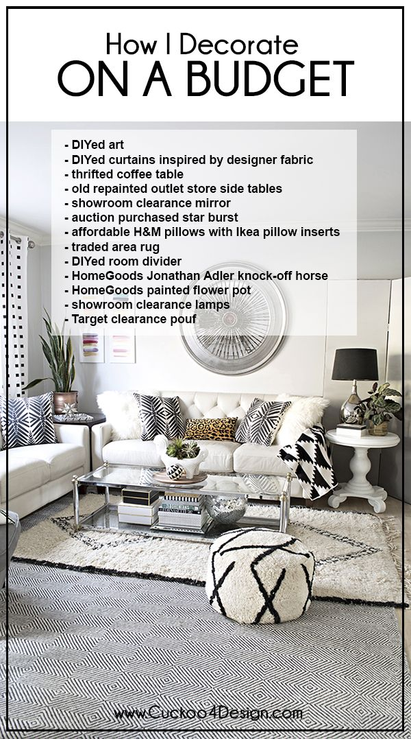 How to decorate on a very tight budget | Budgeting, Decorating and ...