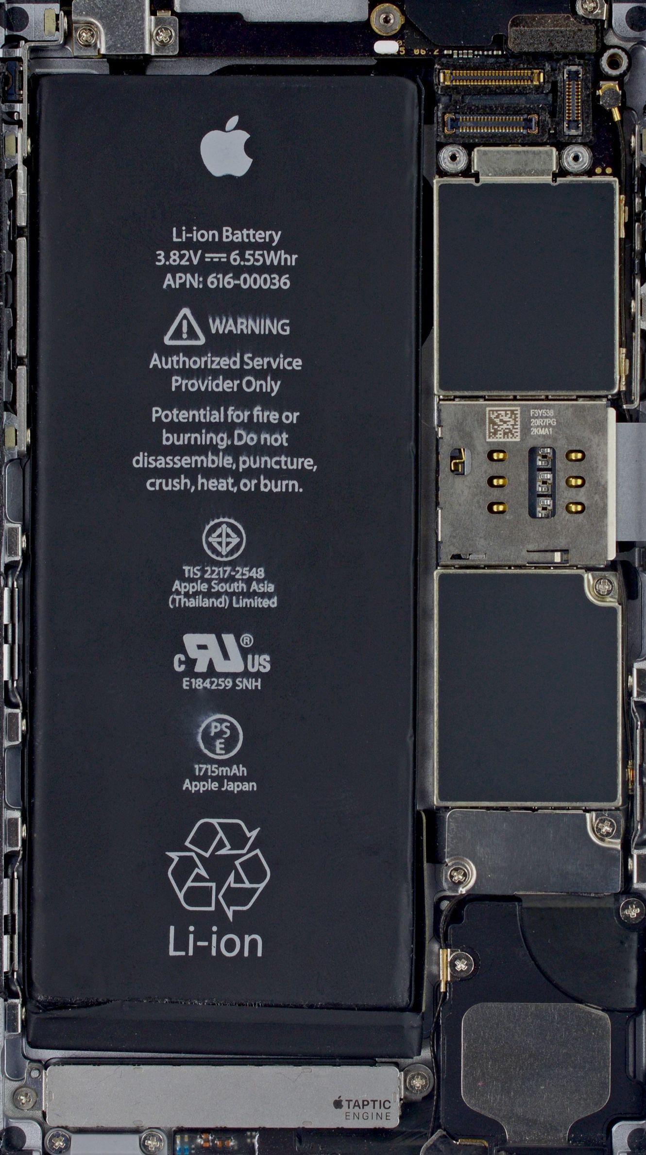 Iphone 6s Inside Wallpaper Teknologi Iphone Wallpaper Ponsel