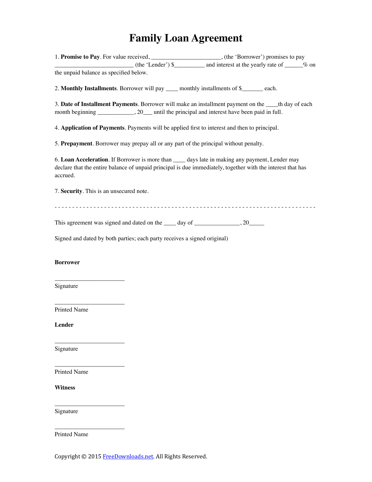 Tumblr Contract Template Notes Template Loan