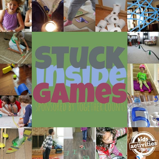 30 Indoor Games For Kids To Play Inside Kids Games Crafts