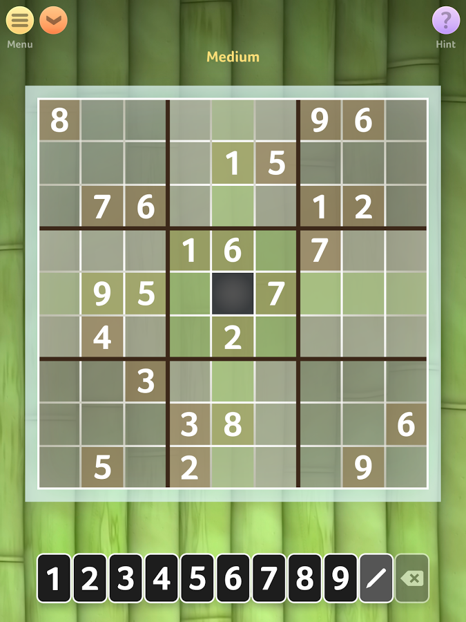 Sudoku screenshot Sudoku, Game option, Sudoku free