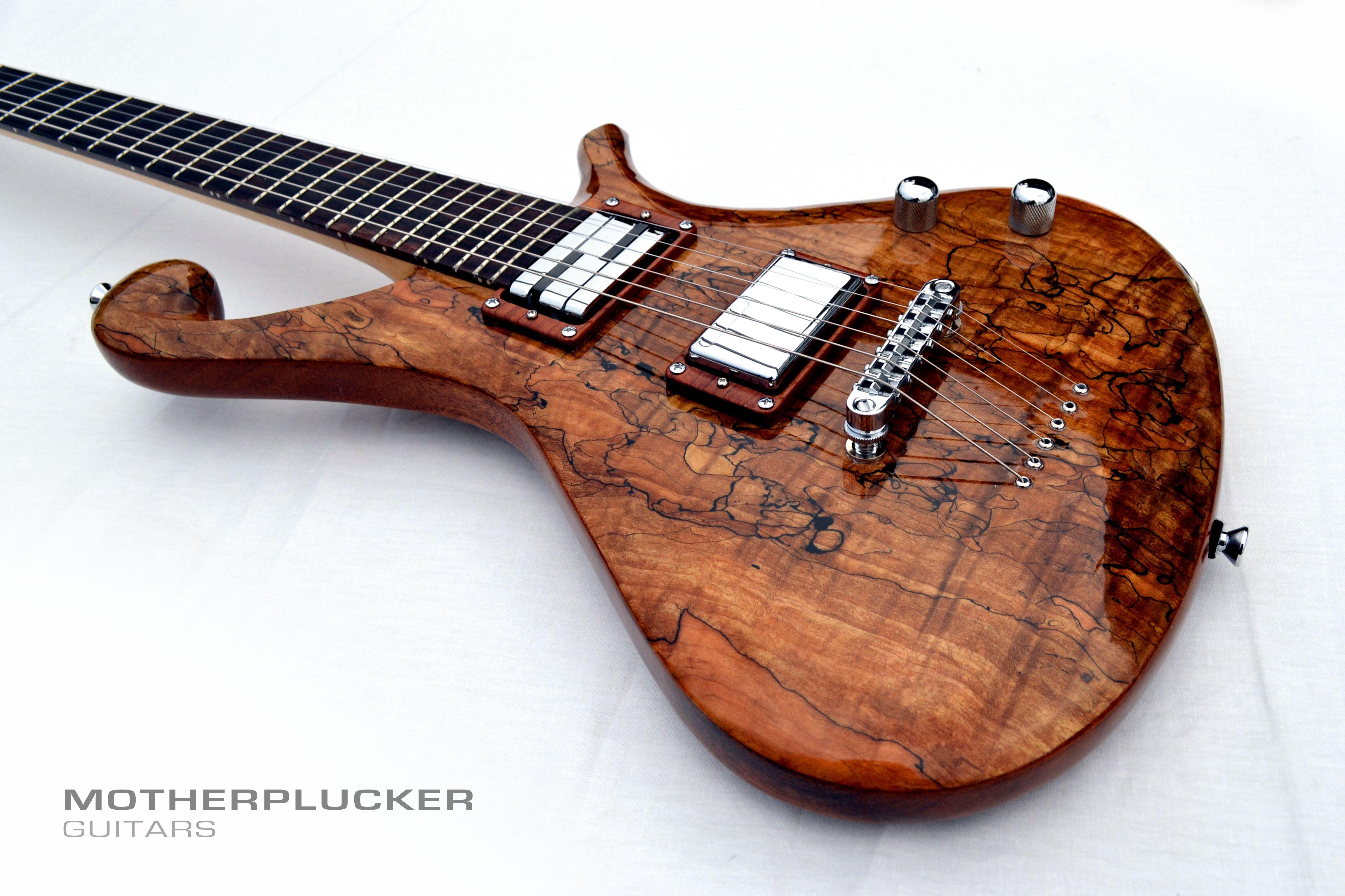 Motherplucker Guitars - Luna - 2015 http://motherpluckerguitars.com/