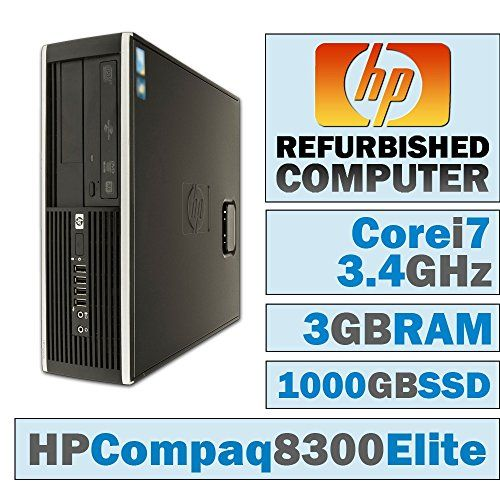 Introducing Hp Compaq Elite 8300 Sffcore I73770 34 Ghz3gb Ddr3new 1000gb Ssddvdrwno Os Great Product And Fo Refurbished Computers Compaq Computer Accessories