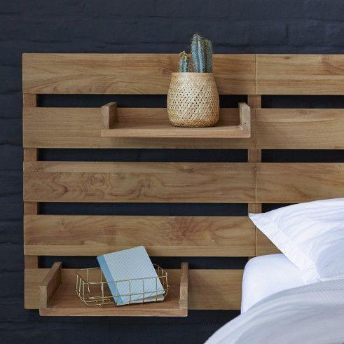 Photo of Kopfteil für Bett aus Teak 270 Urbain #palletheadboards Kopfteil für Bett aus …