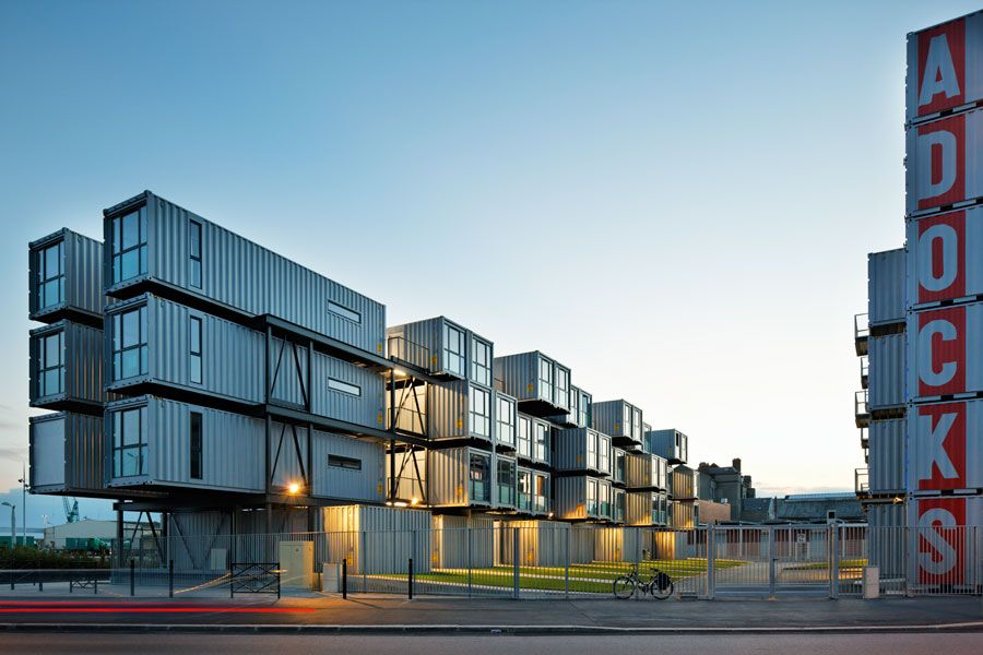 Shipping Container Apartment Building Dc - TheApartment