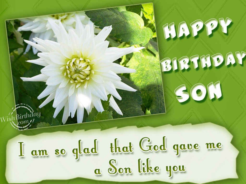 Birthday Wishes for Son Funny Free Pictures – Birthday Greeting for Son