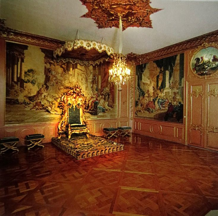 Swedish Queen Lovisa Ulrikau0027s Audience Chamber in The Royal Palace