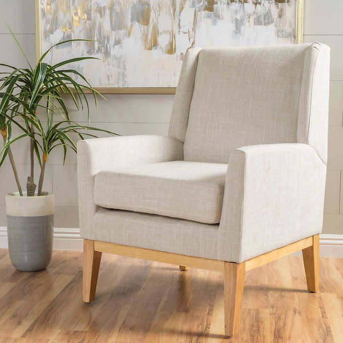 Crosby Fabric Accent Chair Upholstered Chairs Living