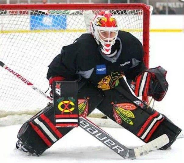 Antti Raanta Chicago Blackhawks Hockey Goalie Hockey Goalie Gear Hockey Goalie Blackhawks Hockey