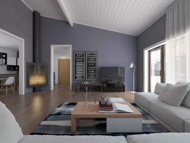Hausfassade modern streichen ideen zum for Wohnzimmer modern streichen