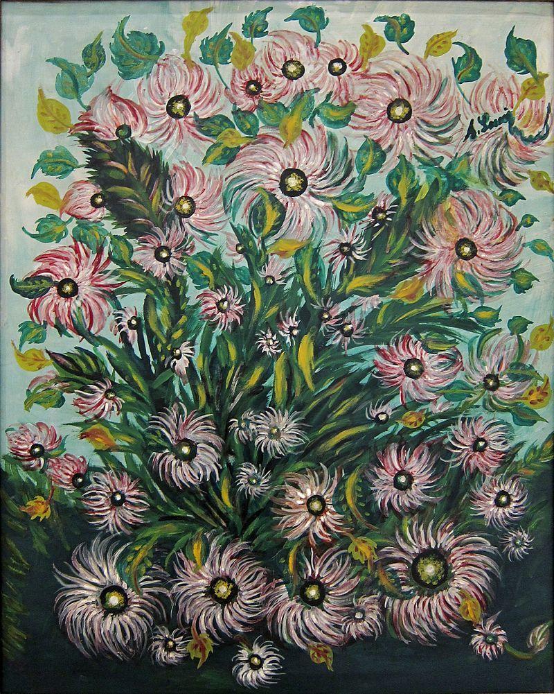 Watercolor artists directory wiki - Vda Lam Seraphine Bouquet 2 S Raphine Louis Wikipedia La Enciclopedia Libre