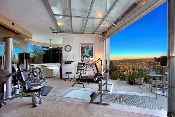 Garage Gym Design Ideas Cool Home Fitness Ideas Dream Home Gym