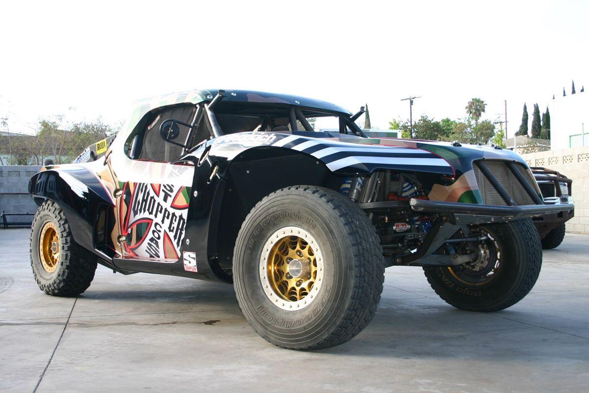Jesse James West Coast Choppers Trophy Truck West coast